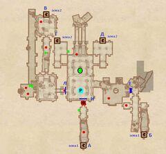 Святилище Крестоносца. План