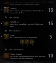 Battlegrounds Achievements - 8