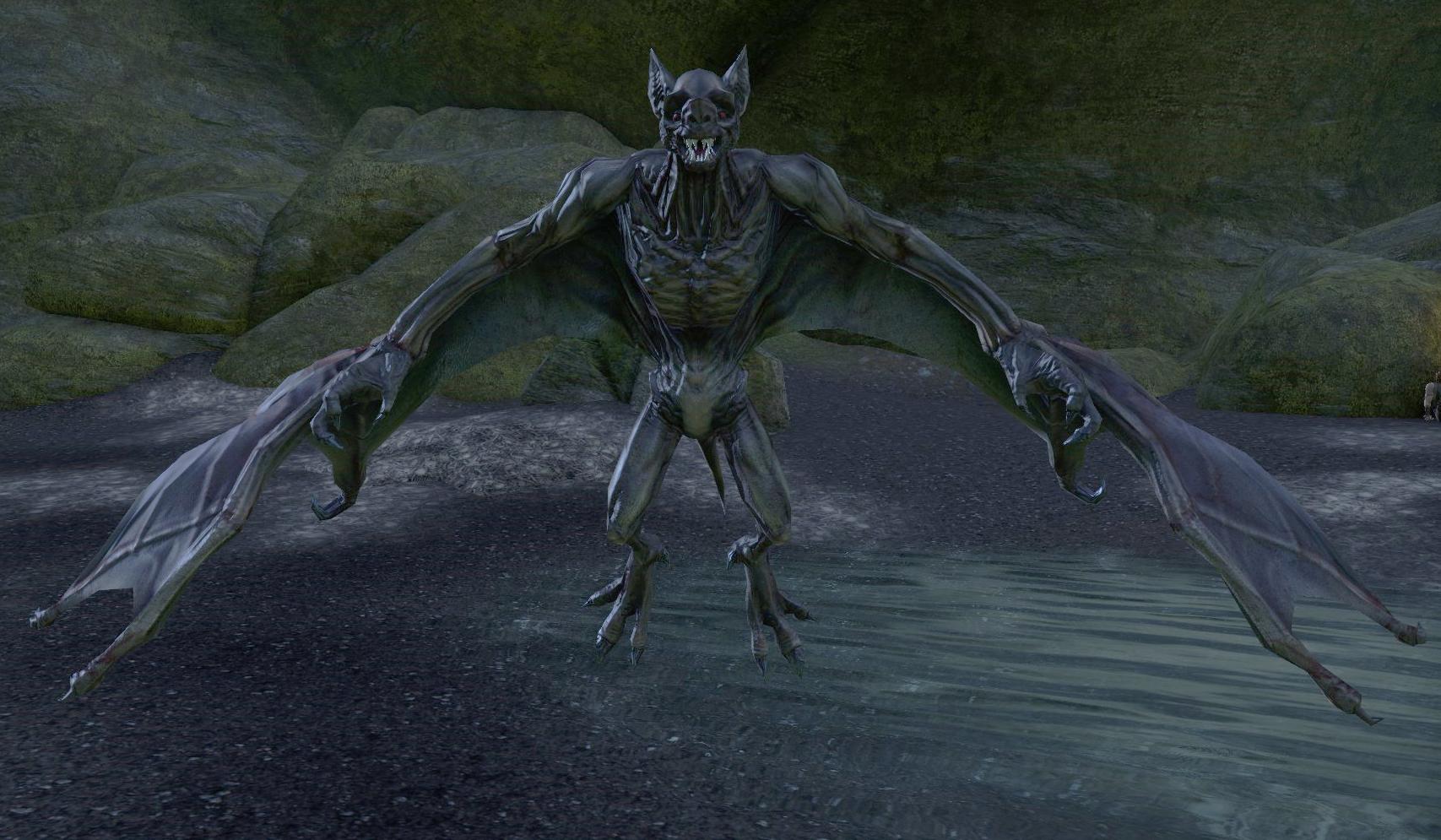 Werebat | Elder Scrolls | FANDOM powered by Wikia Werevulture Skyrim