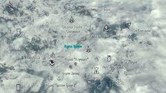 Yngol Barrow - map