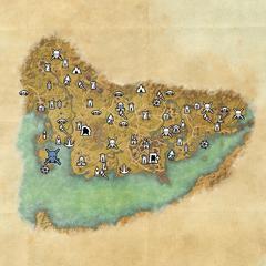 Штормхевен-Отмель грязевого краба-Карта