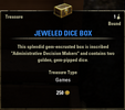 Jeweled Dice Box