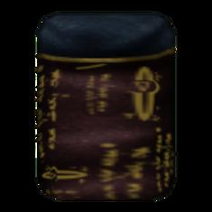 Вычурная Мантия 3 (Morrowind) сложена