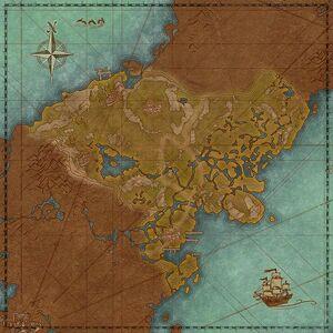 Холмы Камбрайн (карта)