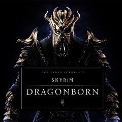 Okładka TES V: Dragonborn