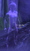 The frozen man at end of quest