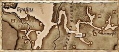 Велке. Карта
