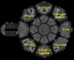 Зал достижений, нижний этаж