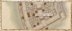Канализация Талос Плаза. Карта