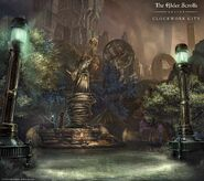 ESO Clockwork City Wallpaper Brass Fortress Square