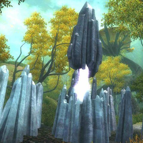 Obelisk Ładu z gry The Elder Scrolls IV: Shivering Isles