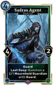 Sadras Agent (Legends)