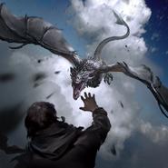 Skyborn Dragon card art