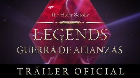 The Elder Scrolls Legends - Tráiler de Guerra de Alianzas