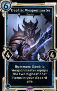 Daedric Weaponmaster DWD