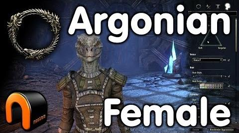 Elder Scrolls Online -- Argonian Female - Character Creation-0