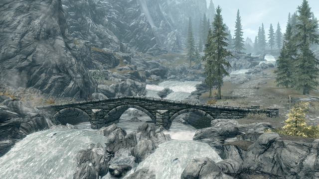 File:Pine Forest outside Whiterun.png