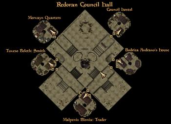 Ground level map