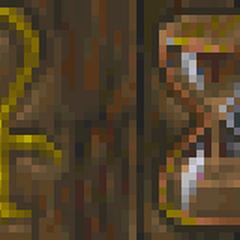 Symbol Akatosha na szyldzie CHónicy Akatosha z gry The Elder Scrolls II: Daggerfall