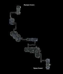 Медварня Хоннинга - подвал - план