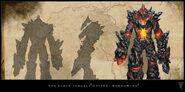 Iron Atronach ESO Concept Art