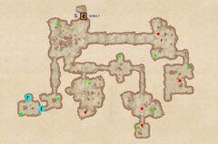 Тритоновая пещера - Проход. План