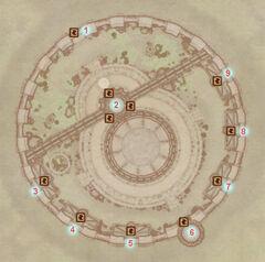 Университет волшебства Имперского города (карта)