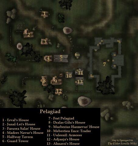 File:TES3 Morrowind - Pelagiad - locations map.jpg