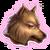 Иконка достижения (голова волка)