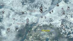 Роща Кин - карта