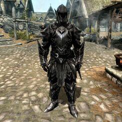 Эбонитовый Воин 1