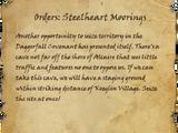 Orders: Steelheart Moorings