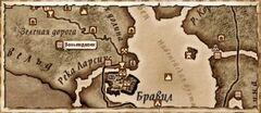 Веньяндавик. Карта