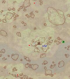 Пещера Кровного Родства (экстерьер). План