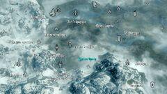 Хижина Фроки на карте