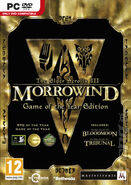 Morrowind Goty PC Cover