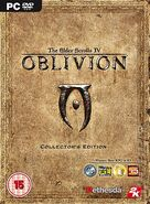Oblivion Collectors Edition PC Cover