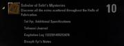 Scholar of Seht's Mysteries Achievement
