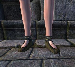 Войлочные туфли