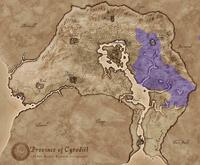 Нибенейский бассейн (карта)
