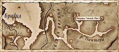 Пещера Гнилой Лист. Карта