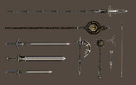 Эбонитовое оружие (Morrowind)
