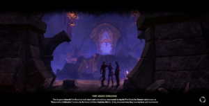 Fort Arand Dungeons Loading Screen
