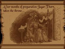 Jagar Tharn trono