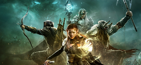 Tamriel Unlimited Promotional Art