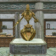 Двемерская сфера - в зале трофеев