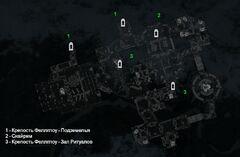 Крепость Феллглоу - план