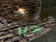 Стекло-сырец в кузнице (TES III)