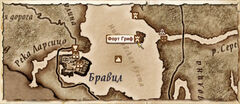 Форт Гриф (Карта)