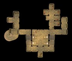 Южная стена Пелагиад. План